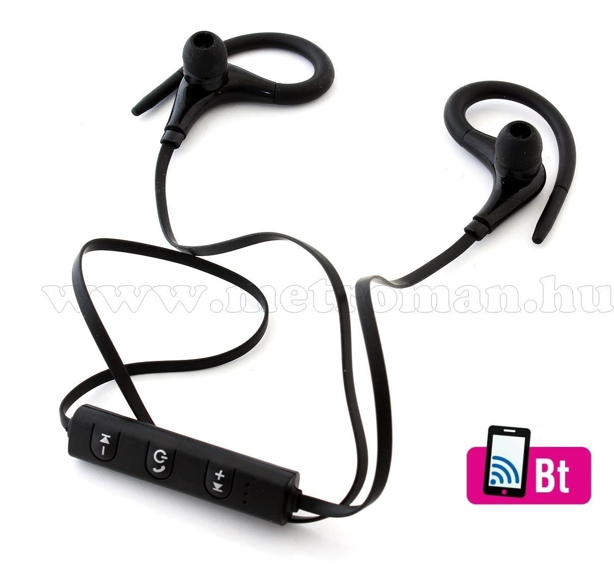 Bluetooth fülhallgató fekete MS27B