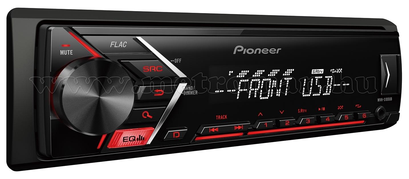 Pioneer MVH-S100UB autó rádió