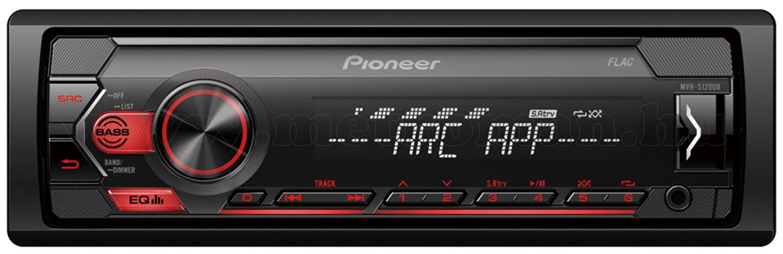 Pioneer MVH-S120UB autórádió