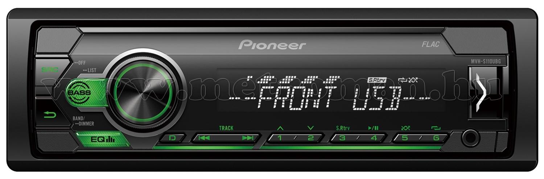Pioneer MVH-S110UBG autó rádió