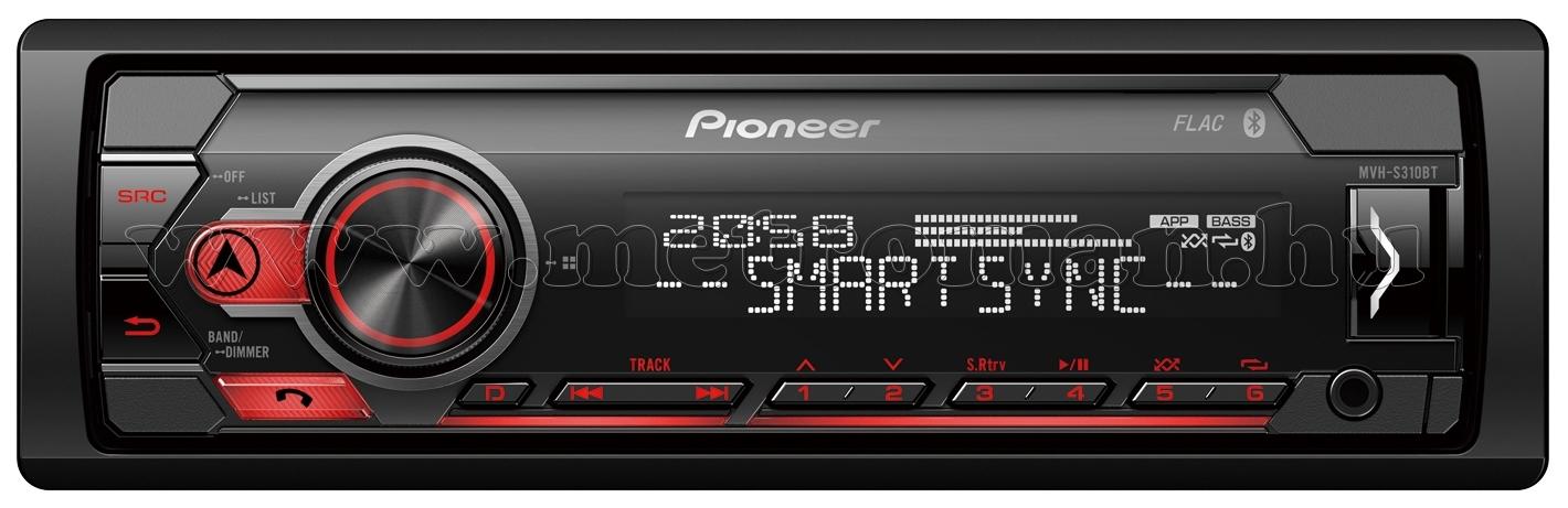 Pioneer MVH-S310BT autó rádió