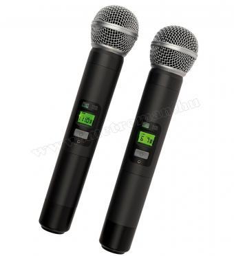 Vezeték nélküli mikrofon, 2 db kézi mikrofonnal MVN 900 DIVERSITY PRO