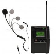 Vezeték nélküli tarkópántos mikrofon, mikroport MVN 901T