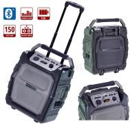 Hordozható USB/SD MP3 Bluetooth Karaoke hangfal és zenelejátszó MacAudio MRS 777