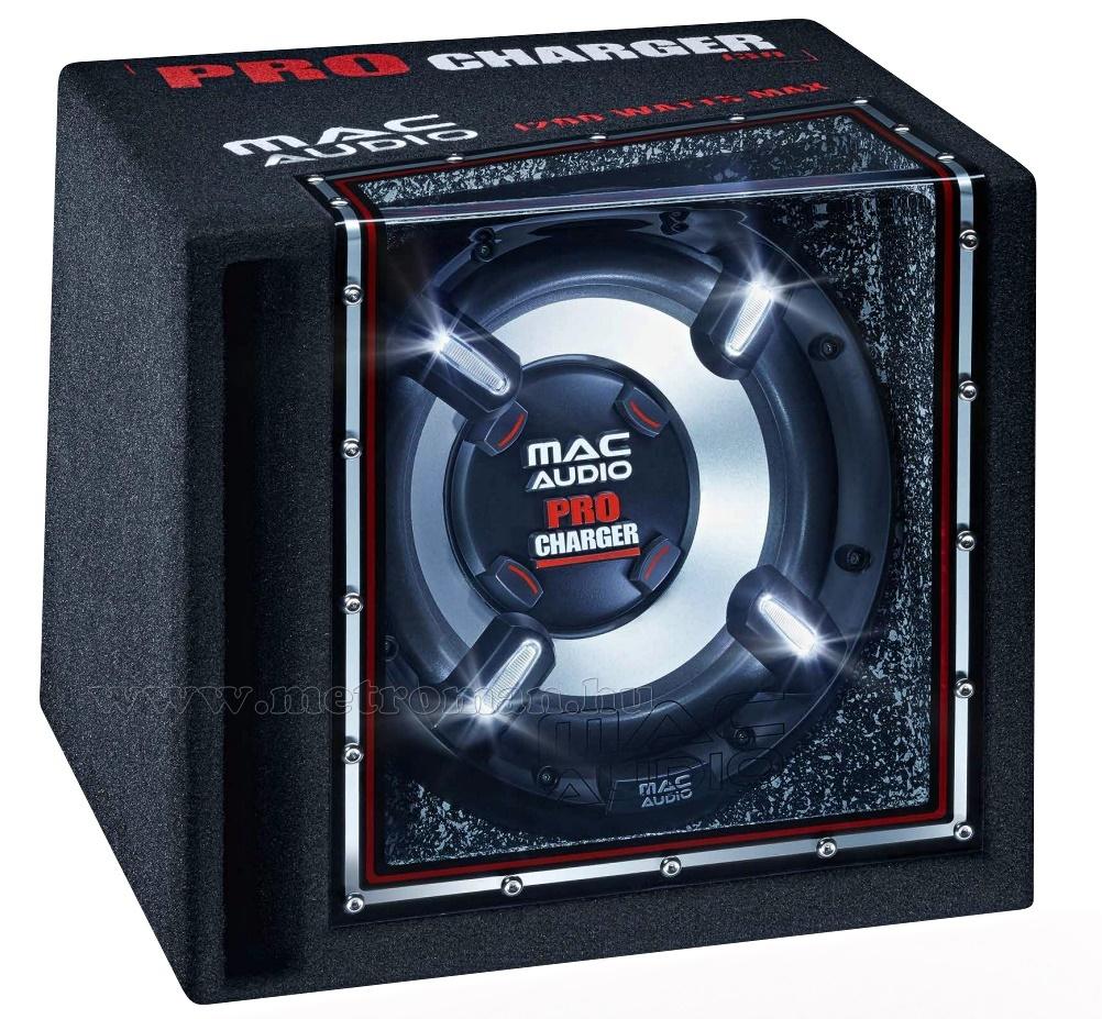 MacAudio Pro Charger 130 Band Pass referencia autós  mélynyomó láda