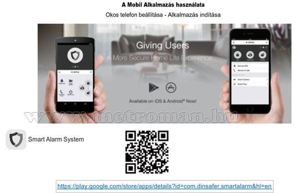 Vezeték nélküli GSM okos riasztó Matigard Air