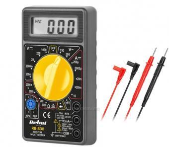 Mérőműszer, digitális multiméter, RB-830