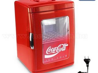 Mobicool Termoelektromos 23 literes mini hűtő COCA-COLA MINI FRIDGE 25 AC/DC