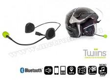 Motoros Bluetooth kihangosító és headszett Twiins D2