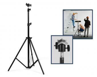Nagy teherbírású univerzális állvány kamerához és LED reflektorhoz M8649B