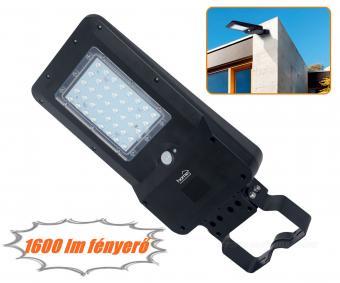 Napelemes LED reflektor PIR mozgásérzékelővel FLP1600SOLAR