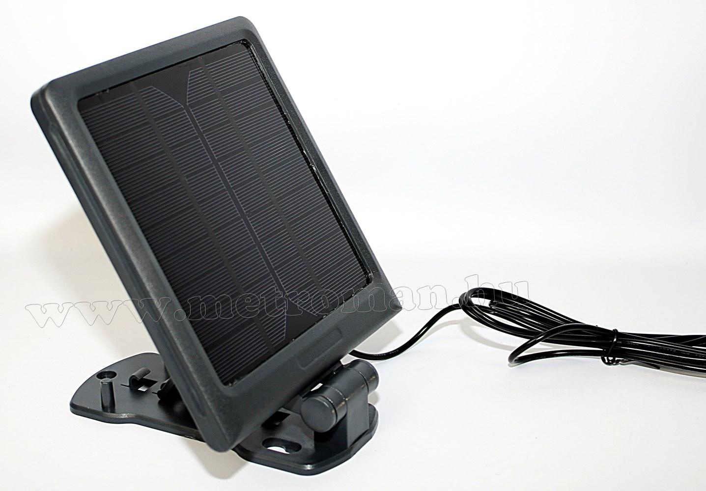 Napelemes, mozgásérzékelős LED reflektor FLP 6 Solar