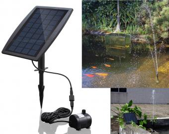 Napelemes kerti tó szökőkút MD70B-Solar