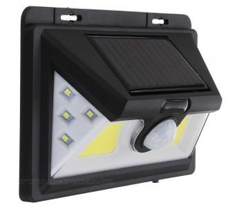 Napelemes mozgásérzékelős LED lámpa M1833-COB