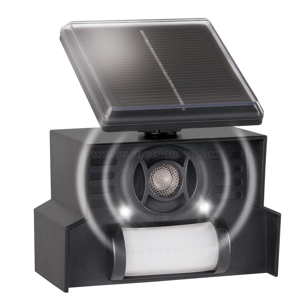 Napelemes ultrahangos Kutya Macska riasztó Gardigo M055 Solar