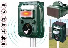 Ultrahangos, napelemes Multi Frekvenciás kisállat riasztó MH-501 Solar