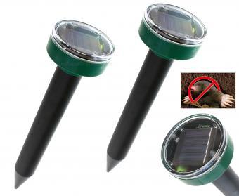 Napelemes vakondriasztó 2 db-os csomag MG9C-Solar