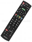 Utángyártott Univerzális Panasonic TV  távirányító Panasonic  LCD LED TV-hez MM P110