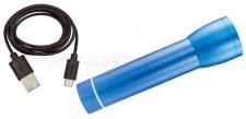 Vésztöltő Power Bank és LED lámpa PB 2600/BL