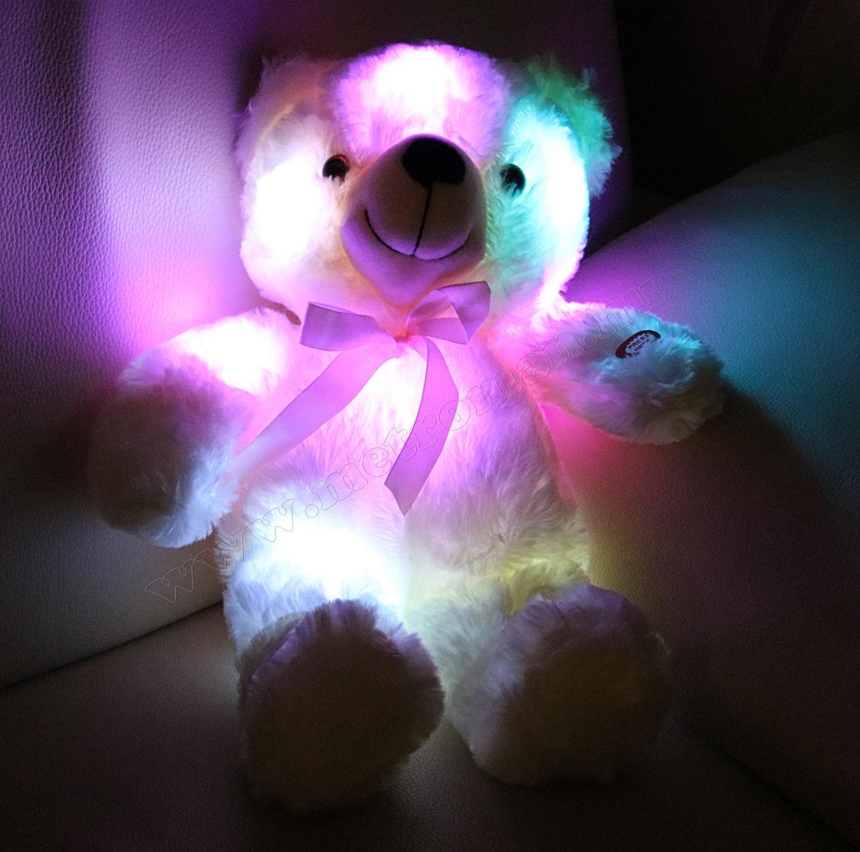 Plüssmaci LED hangulat világítással PM 01/BG