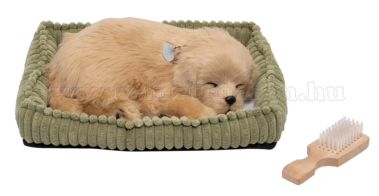 Lélegző plüss kisállat Golden Retriever kutya PPGoldenRetriever