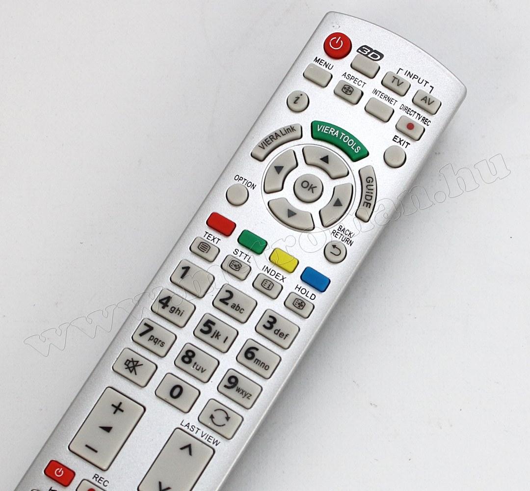Utángyártott Univerzális Panasonic TV  távirányító Panasonic  LCD LED TV-hez M3946