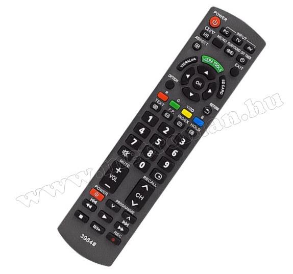 Utángyártott Univerzális Panasonic TV távirányító Panasonic LCD LED TV-hez M3984
