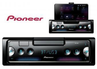 Bluetooth autórádió integrált telefontartóval Pioneer SPH-10BT DELUXE