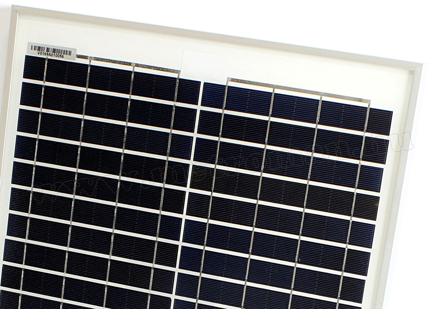 12V 20 Watt napelemes töltő szett töltésvezérlővel Poly Solar FG-20W-5A-PWM