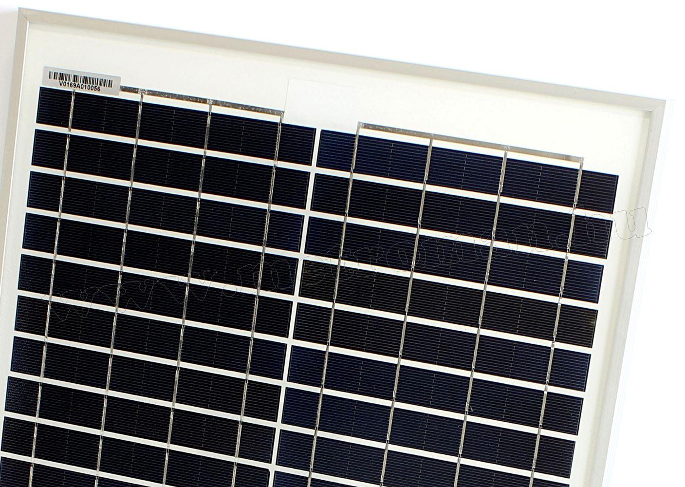 Napelem Poly Solar FG-20W