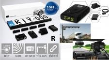 Komplett traffipax védelem rendszer, Lézerblokkoló GPS és RADAR detektor,  KIYO Ultimate AP4R GPS+RADAR