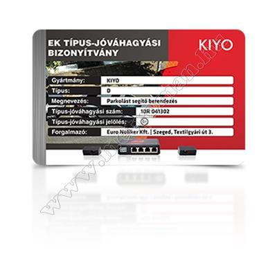 Profi rejtett technológiás aktív lézerdetektor és lézerblokkoló KIYO D Ultimate 4