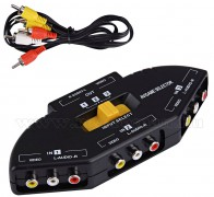 Audio-Video RCA elosztó és kapcsolópult M0958