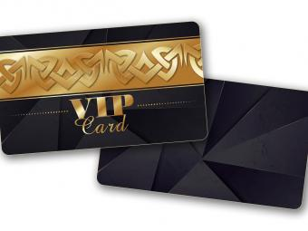 RFID Proxy beléptető VIP Arany kártya