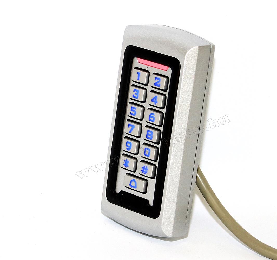 Komplett Kártyás és kódzáras Beléptető szett mágneszárral RFID-208-IP68 EX