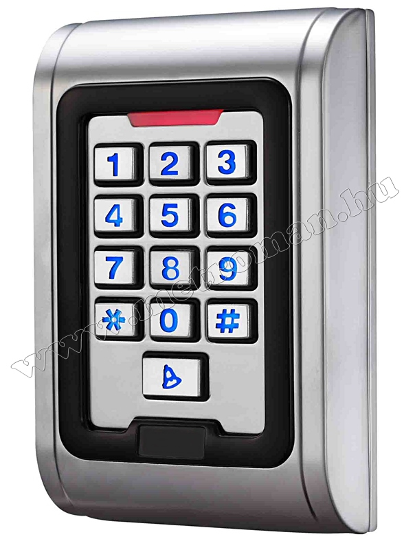 Kártyás és kódzáras Beléptető RFID M-8EMW