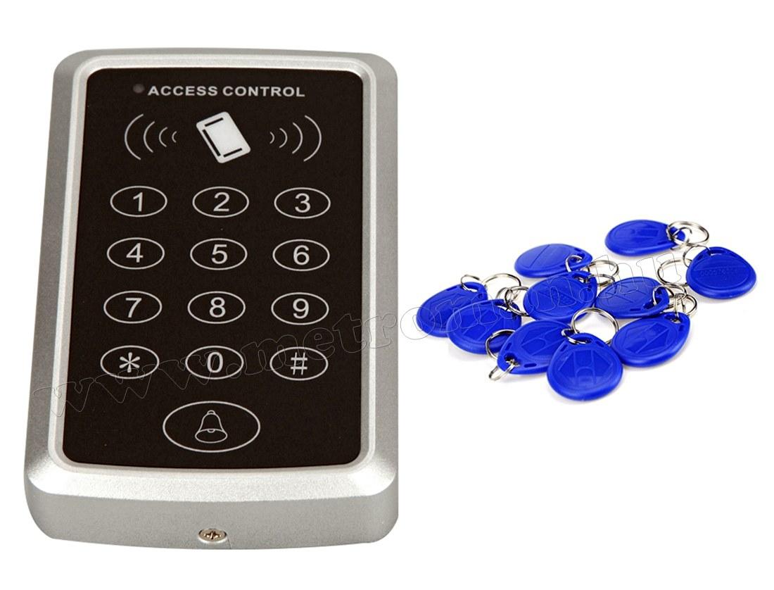 Komplett Kártyás és kódzáras Beléptető szett mágneszárral Mlogic RFID X3/EX