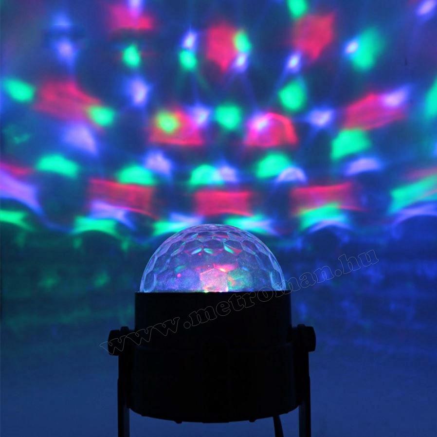RGB LED Magic diszkó gömb M7056
