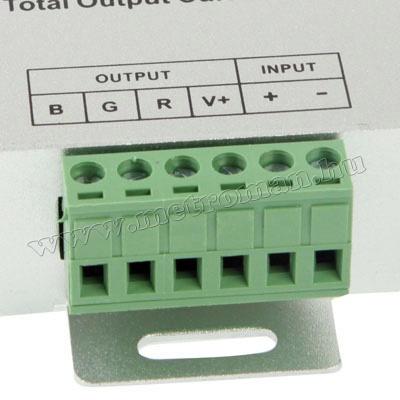 Érintésérzékeny RGB LED szalag vezérlő RF távirányító RF80