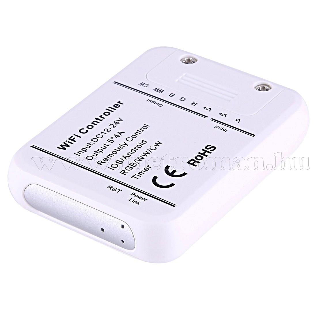 Wifi okos távirányító RGB LED szalaghoz Mlogic M1788