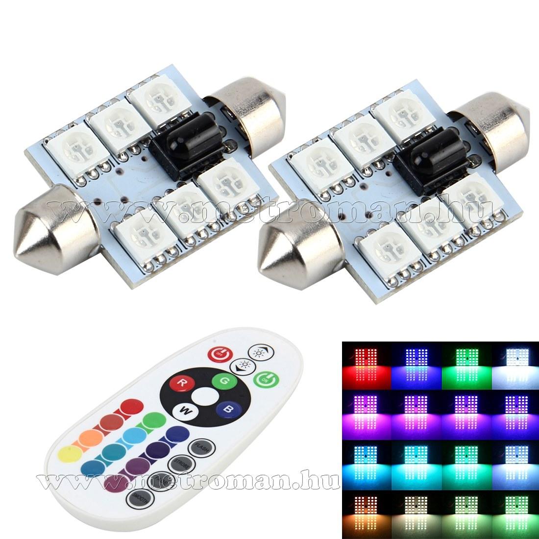 Autós Szofita RGB színváltós LED távirányítóval MM-2850 RGB