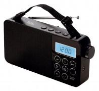 Világvevő LCD táskarádió AM/FM/SW SAL RPR3LCD