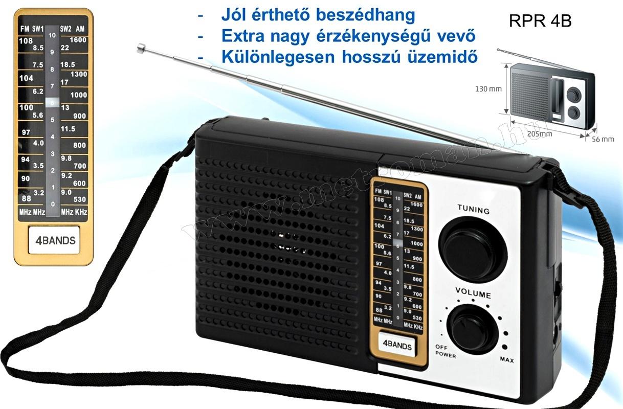 AM/FM Táska Rádió, SAL RPR 4B