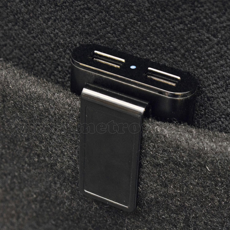 Nagyteljesítményű USB töltő 4 töltőaljzattal SA060