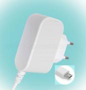 Hálózati adapter, mobiltelefon töltő, microUSB csatlakozóval SA 2000MU