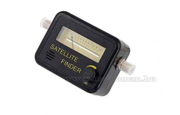 Műhold antenna beállító, jelerősség mérő műszer SAT-Finder MK157