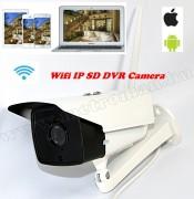 Vezeték nélküli Kültéri SD DVR Wifi IP Android iPhone megfigyelő kamera SE-NI104T