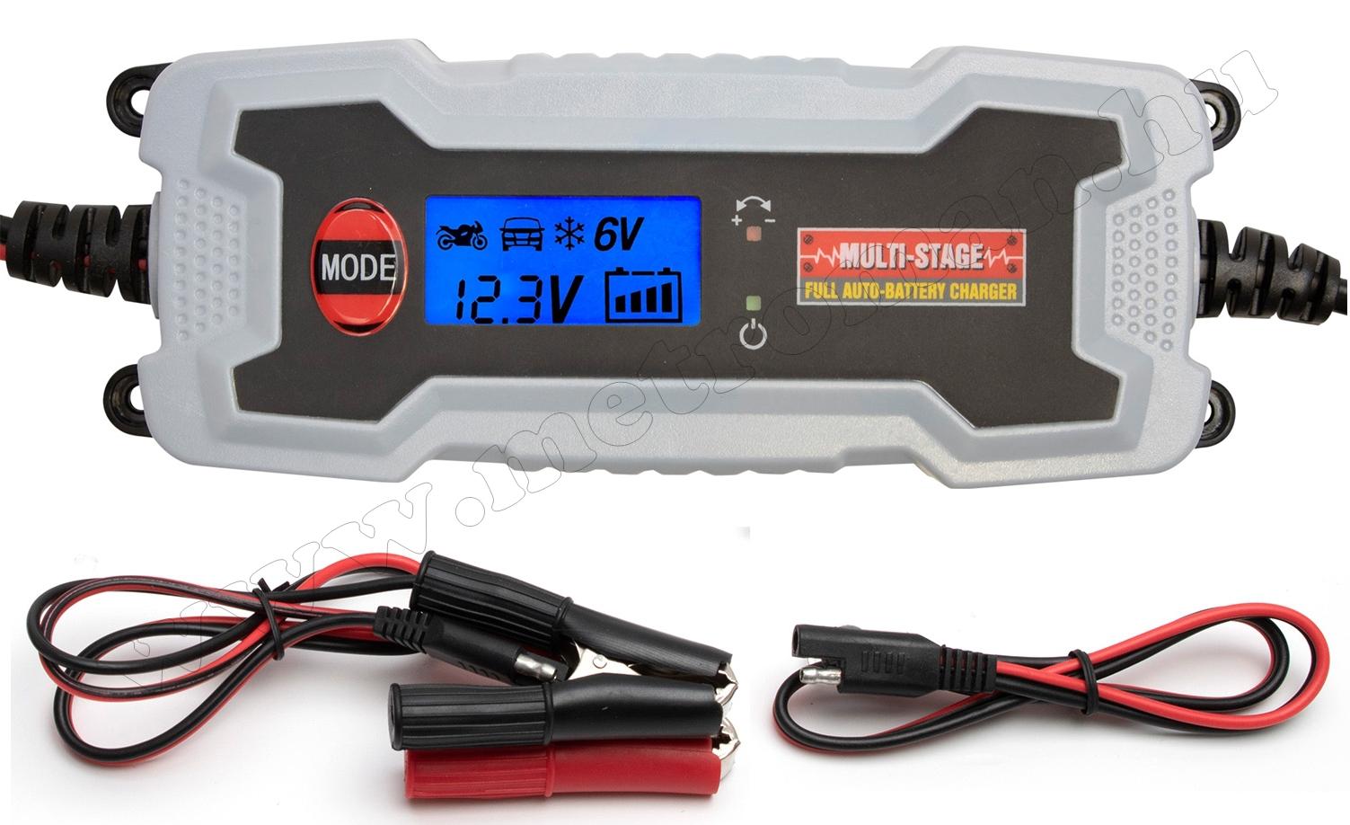 Smart, automata akkumulátor töltő, csepptöltő SMC38