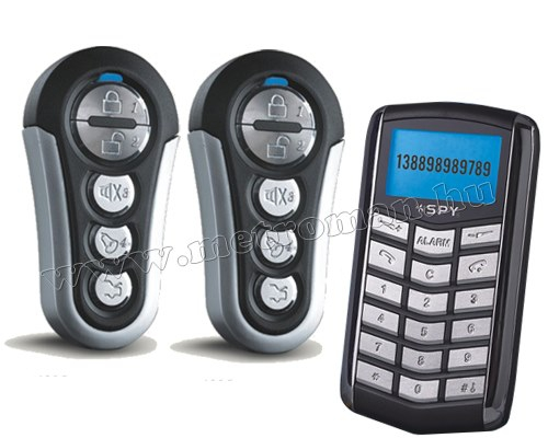 GSM autóriasztó GPS nyomkövetővel SPY 038