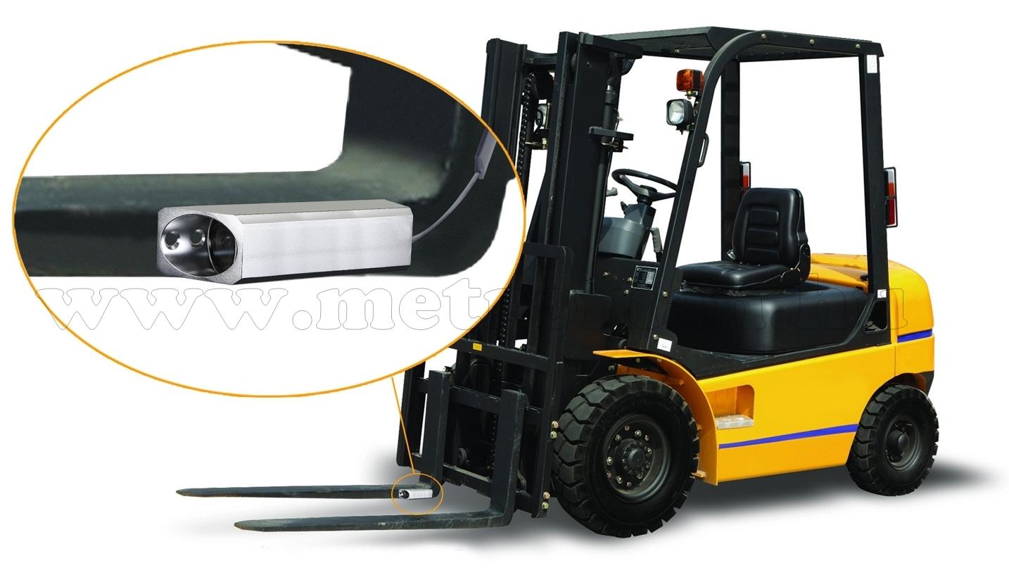 Ipari kivitelű vezeték nélküli targonca tolató kamera SHARP SV-DW687